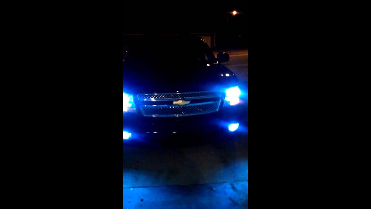 Hid Install 2007 Chevy Tahoe Youtube 2015 Silverado Fog Light Wiring Harness