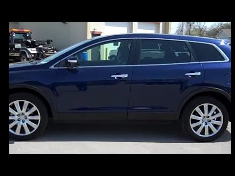 2008 Mazda CX9 GRAND TOURINGAWDNAV2ND BENCH3RD ROW7 P  YouTube