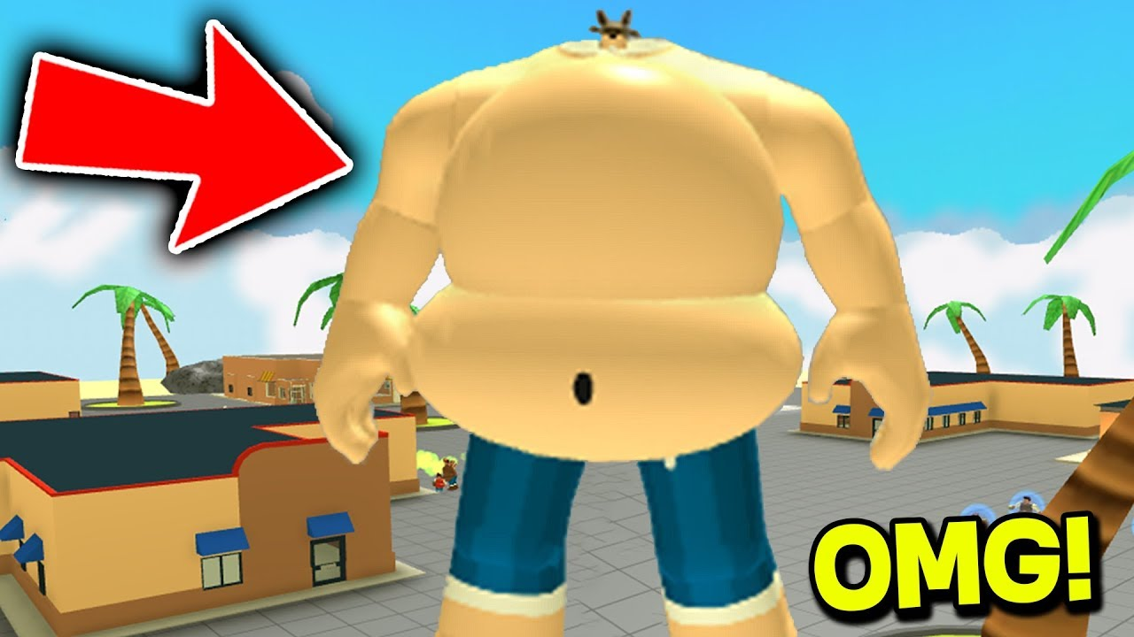 ROBLOX EATING SIMULATOR! *WORLD'S FATTEST PLAYER* - YouTube