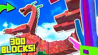 THE BIGGEST MOB IN MINECRAFT EVER | Minecraft Mods (Mythical Creatures)
