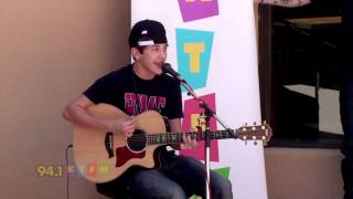 Austin Mahone - Say Something Live In San Antonio Texas