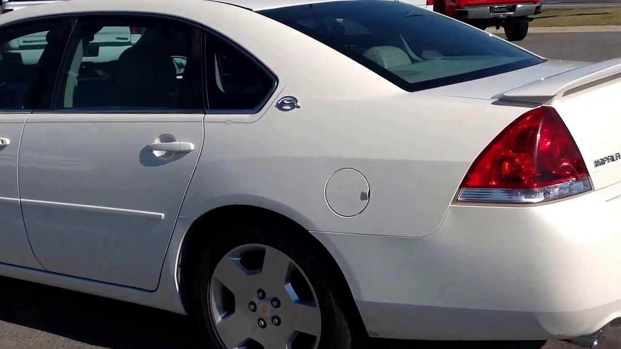 2008 Chevrolet Impala SS 53L V8 YouTube