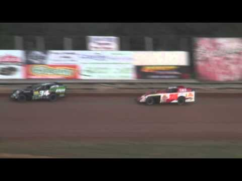 Bluegrass Speedway Modified Heat #1 8/6/2011