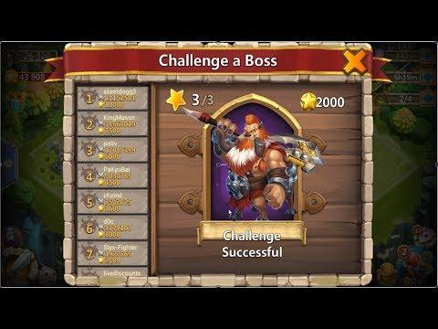 Castle Clash: Boss Tier 3 Perma Stun Full 3 Minutes.