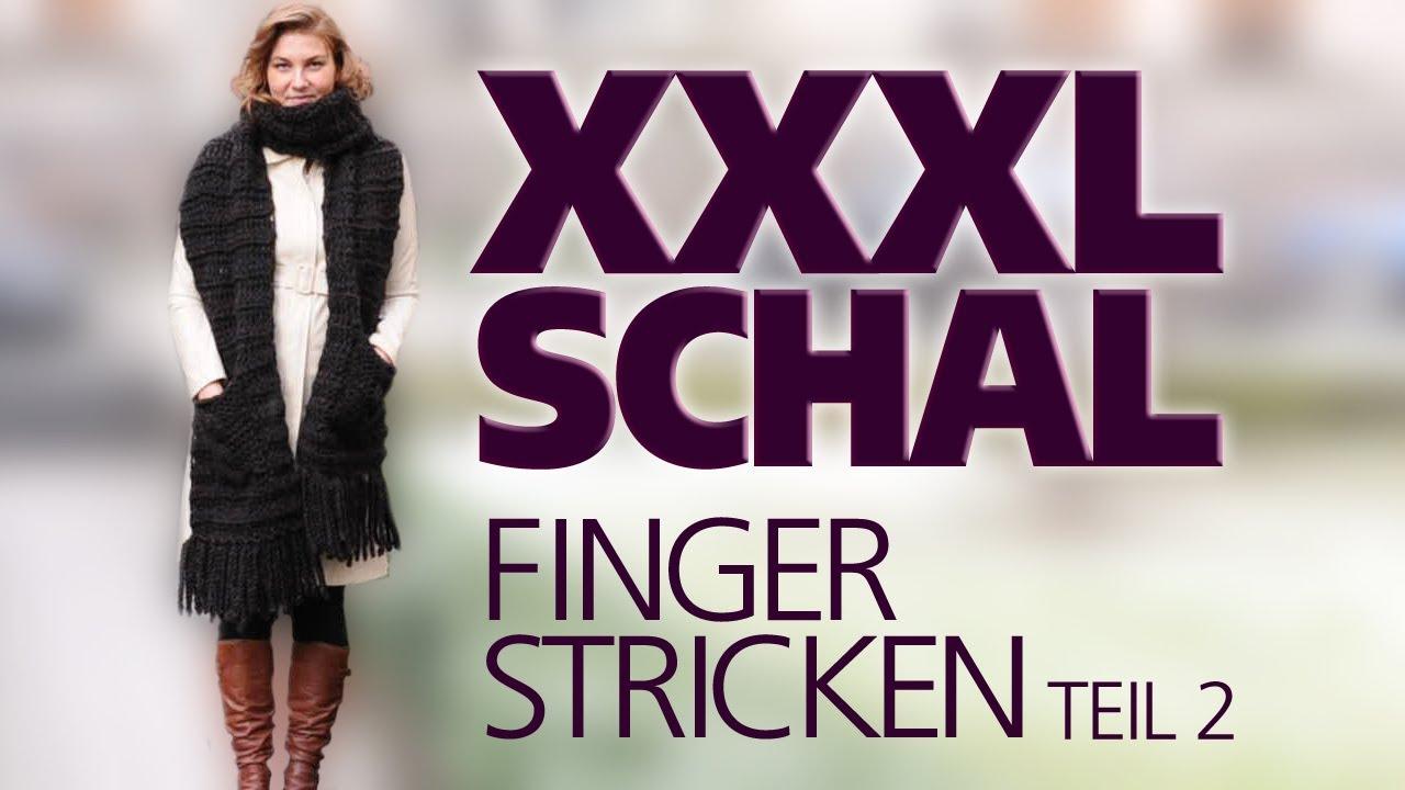 50ff0891f6df9d Fingerstricken: So entsteht ein Schal ohne Stricknadeln