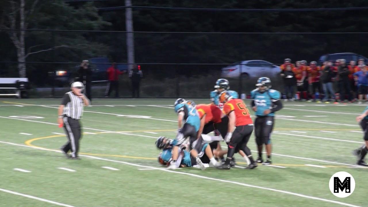 Nick Boutilier Football Highlight Vs Auburn Eagles Youtube