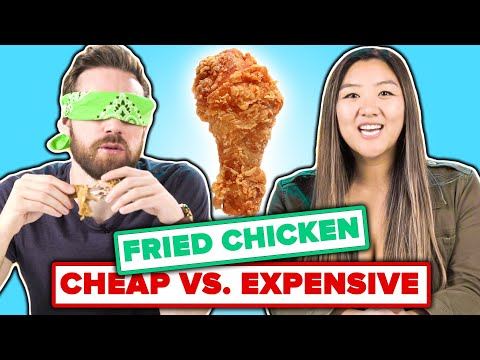 We Guess Cheap Vs Expensive Fried Chicken