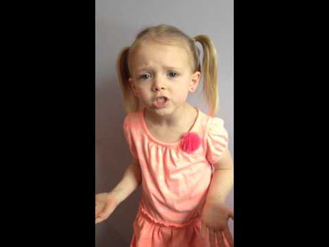 5 year old colbi child actor monologue