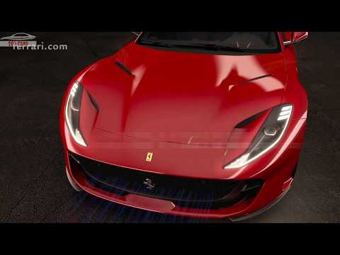FERRARI 812 SUPERFAST - Inside New Technologies & First Drive Experience