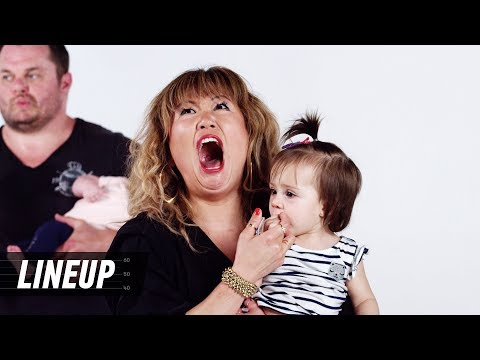 Which Babies Belong to Which Parents? (Ellen) | Lineup | Cut