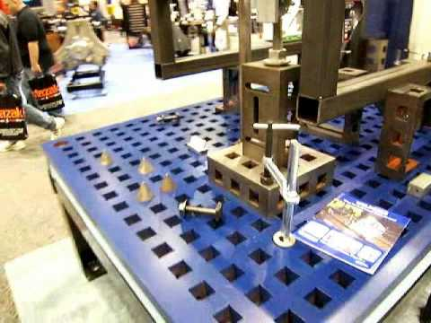 Weldsale Platen Welding Tables Youtube
