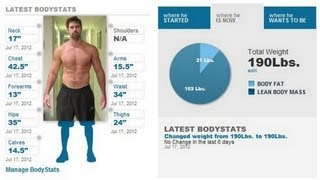 Current Body Stats - Biceps, Chest, Waist, Legs...