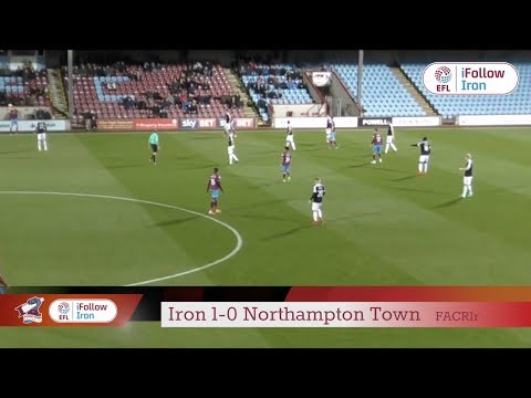 📺 Match Action: Iron 1-0 Northampton Town (FA Cup R1 replay)