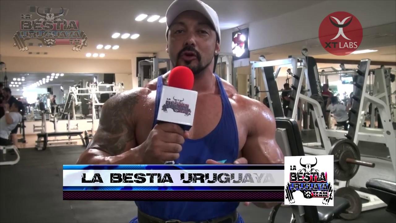La Bestia Uruguaya- #4 Entrenamiento Hombro y Trapecio - YouTube