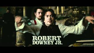 Шерлок Холмс: Игра теней [трейлер]