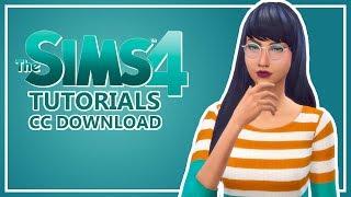 Die SIMS 4 | CC Download/Installieren Tutorial