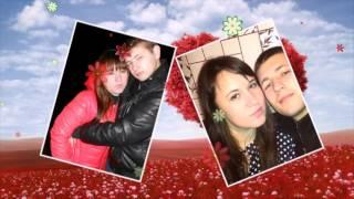Поздравления с Днем влюбленных слайд шоу  романтика клип из фото