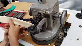 Швейна машина кушнірська 10-Б клас Машинка скорняжка. Sewing machine.