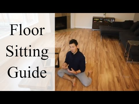 How to Sit on the Floor Comfortably without Getting Pain | Feldenkrais Style