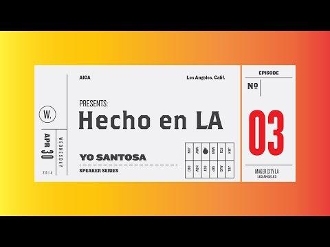 Branding Identity Design w/ Yo Santosa 😊😂 AIGA LA Hecho en LA speaker series