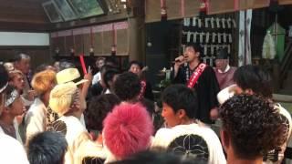 大県祭り 2017/7/31 鐸比古鐸比賣神社 ラスト!!