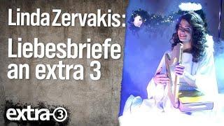 """Linda Zervakis liest """"Liebesbriefe"""" an extra 3"""
