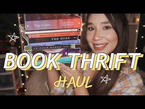 memoirs, fiction & books that will make you cry // BOOK THRIFT HAUL + BOOK CLUB