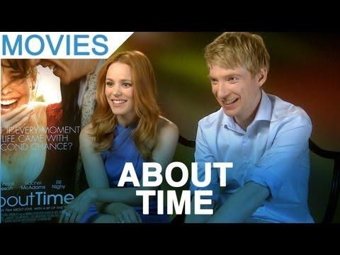 &39;About Time&39; Rachel McAdams & Domhnall Gleeson