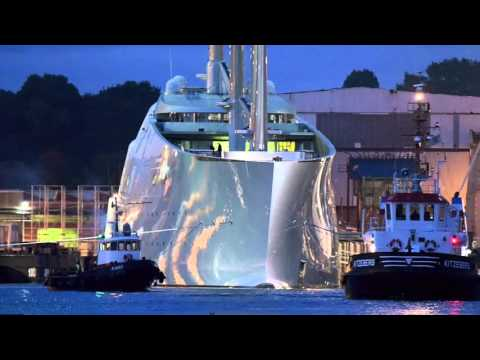 £260 Million Sailing Yacht, SOLANDGE At Monaco Yacht Show & much more