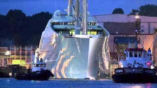 £260 Million Sailing Yacht, SOLANDGE At Monaco Yacht Show & much more
