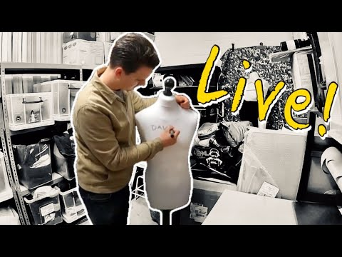 wrapping-ebay-orders-live-|-answering-questions-from-subscribers-|-q&a