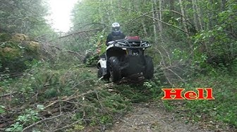 Epic Trail ATV UTV Ride Thru Hell Crazy Insane