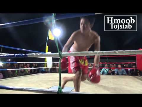 Boxing: Hmong Thai VS Hmong Lao  2016
