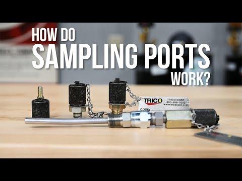 How Sample Ports Work   Oil Sampling Port and Pitot Tubes