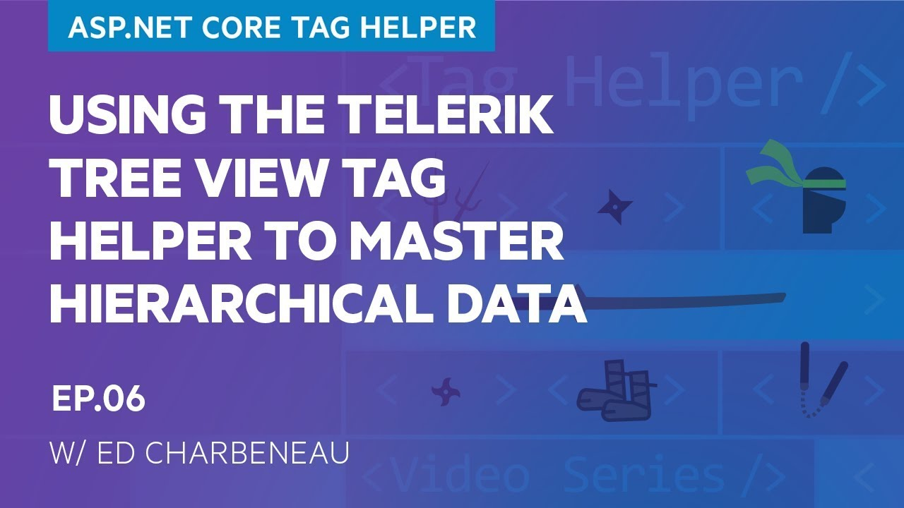 Using the Telerik Tree View Tag Helper to Master Hierarchical Data (6/11)