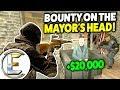 Bounty On The Mayor's Head! - Gmod DarkRP Life (Hitman With Big Bounty's $20k Per Target)