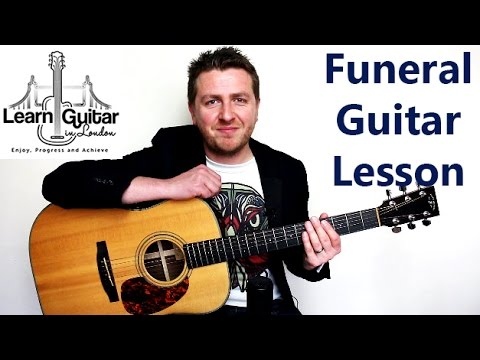 The Funeral - Guitar Lesson - Band Of Horses - How To Play - YouTube
