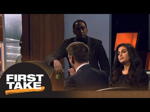 Max's take on Tom Brady makes Stephen A. almost leave the set | First Take | ESPN