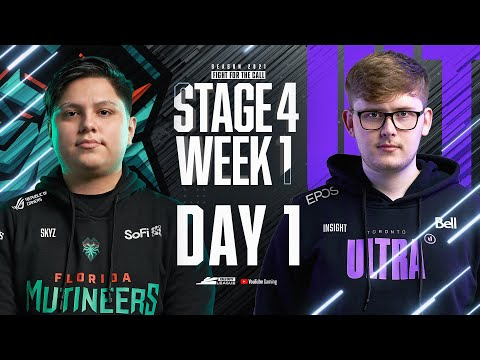 Call of Duty League 2021 Season   Stage IV Week 1 — Chicago Home Series   Day 1