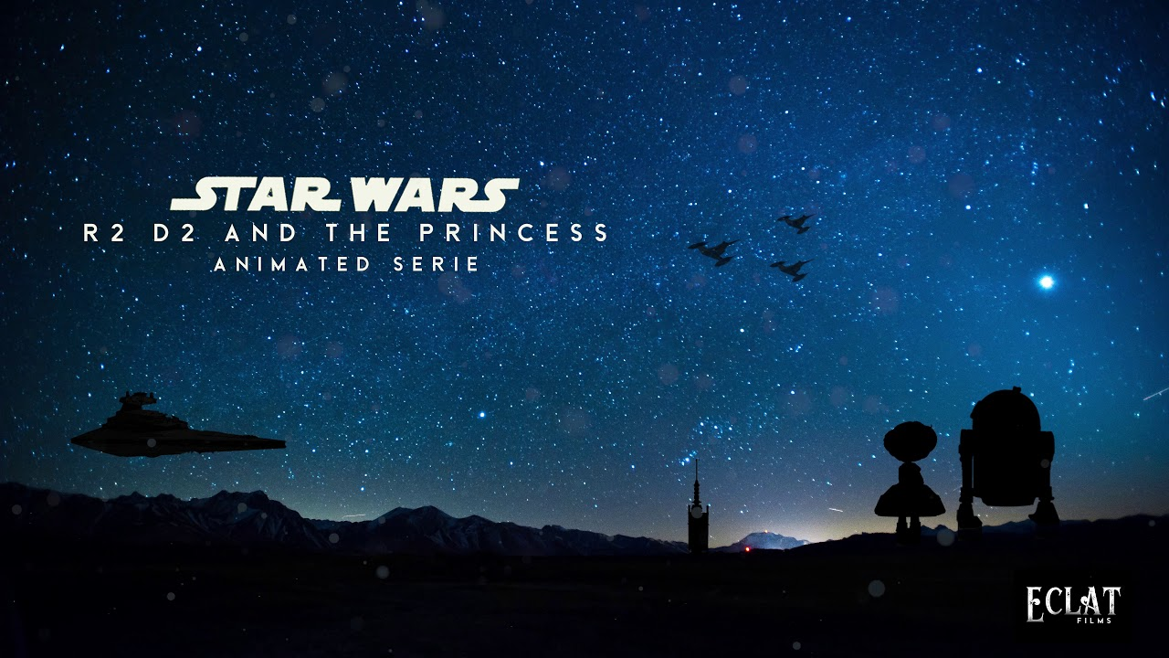 R2D2 Theme (OST) | BLANKTONE Studio | R2D2 and the Princess : STAR WARS Fan Film Animation (2020)