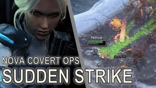 Starcraft II: Nova Covert Ops 2 - Sudden Strike [All Achievements]