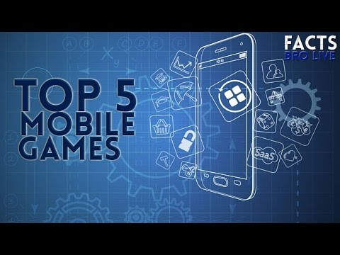 Top 5 Most Popular Mobile Games | December 2016