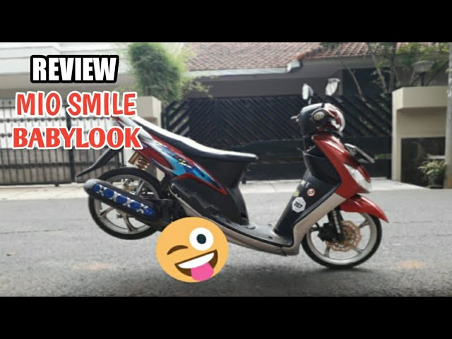REVIEW MOTOR MIO BABYLOOK STYLE ALA KANTONG PELAJAR