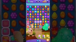 Candy Crush FRIENDS Saga level 124 no boosters