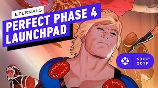 Why the Eternals is the Perfect Movie to Launch MCU Phase 4 - IGN Live at Comic Con 2019