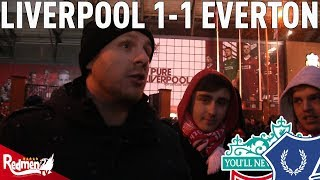 Liverpool v Everton 1-1 | #LFC Free For All Fan Cam