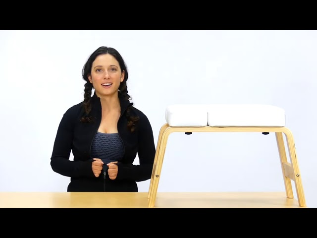 Product Video - Yoga Headstand Bench⠀
