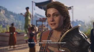 Assassin's Creed Odyssey-Kassandra-Killing Virtue Walkthrough