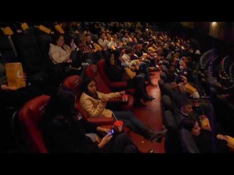 Lanzamiento oficial de la sala XD de Cinemark Paraguay 7