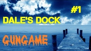 Custom Zombies - Dale's Dock_ 4-Player GunGame - LOVE the Weapons! (Part 1)